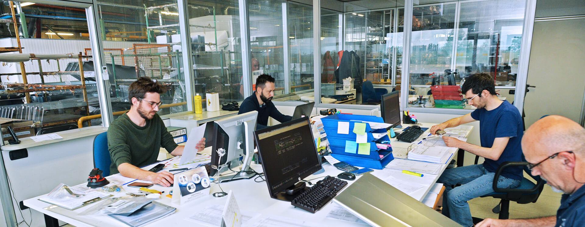 Ufficio tecnico Lavorazione Lamiere - Pres Metal Verona